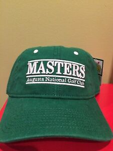 9a84cbe0af5 NEW Masters Hat Green Vintage Style Golf Augusta National Baseball ...
