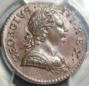 1771-PCGS-MS-64-George-III-1-2-Penny-Great-Britain-Mint-State-Coin-17091201D