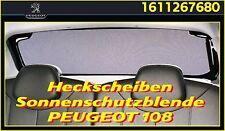 Original Peugeot 107 Sonnenblende Sonnenschutz Türscheiben hinten 9659CV 3 Türer