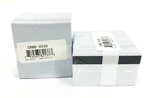 Fargo UltraCard Premium CR80 HICO PVC Cards w// Magnetic Stripe 30 mil 200 Cards