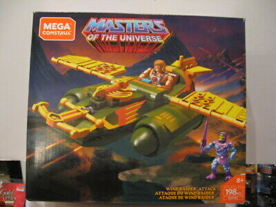 Mega Construx Masters Of The Universe Wind Raider Attack 198 pcs 2018 He Man