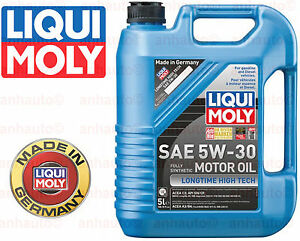 5 liters liqui moly 5w 30 low friction long life fully. Black Bedroom Furniture Sets. Home Design Ideas
