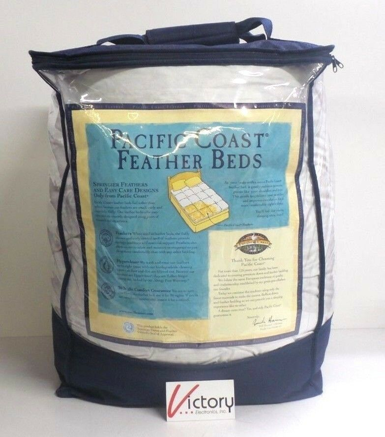 New Pacific Coast Feather Baffle Bed With Protective Cover - Twin 39  X 75