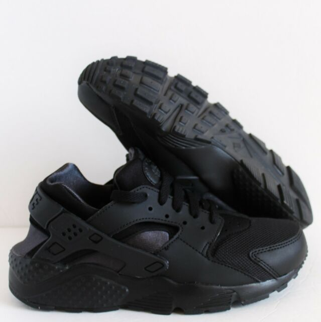 e81aa705a10ad Nike Huarache Run Black Anthracite Grade School Big Kids SNEAKERS Sz ...