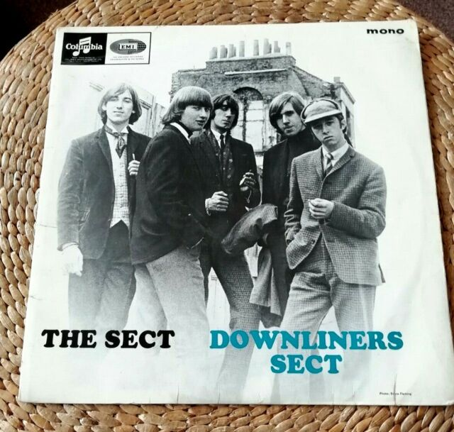 DOWNLINERS SECT THE SECT LP 1964 33SX 1658 RARE MONO