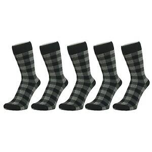 Size: 4-7 Checked Design Trainer Socks 3 PACK