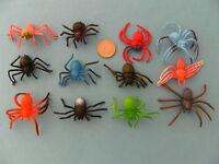 Spinnen 12erset 6cm Spinne Gummispinnen Gummispinne Vogelspinnen Tarantel Neu