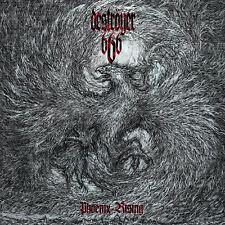 """DESTRÖYER 666 """"PHOENIX RISING"""" VINYL LP REISSUE LIMITED 500 GREY"""