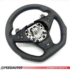 e61 Multi Noir 3-379-e63-2 Troc Tuning aplatie Cuir Volant BMW 5 e60