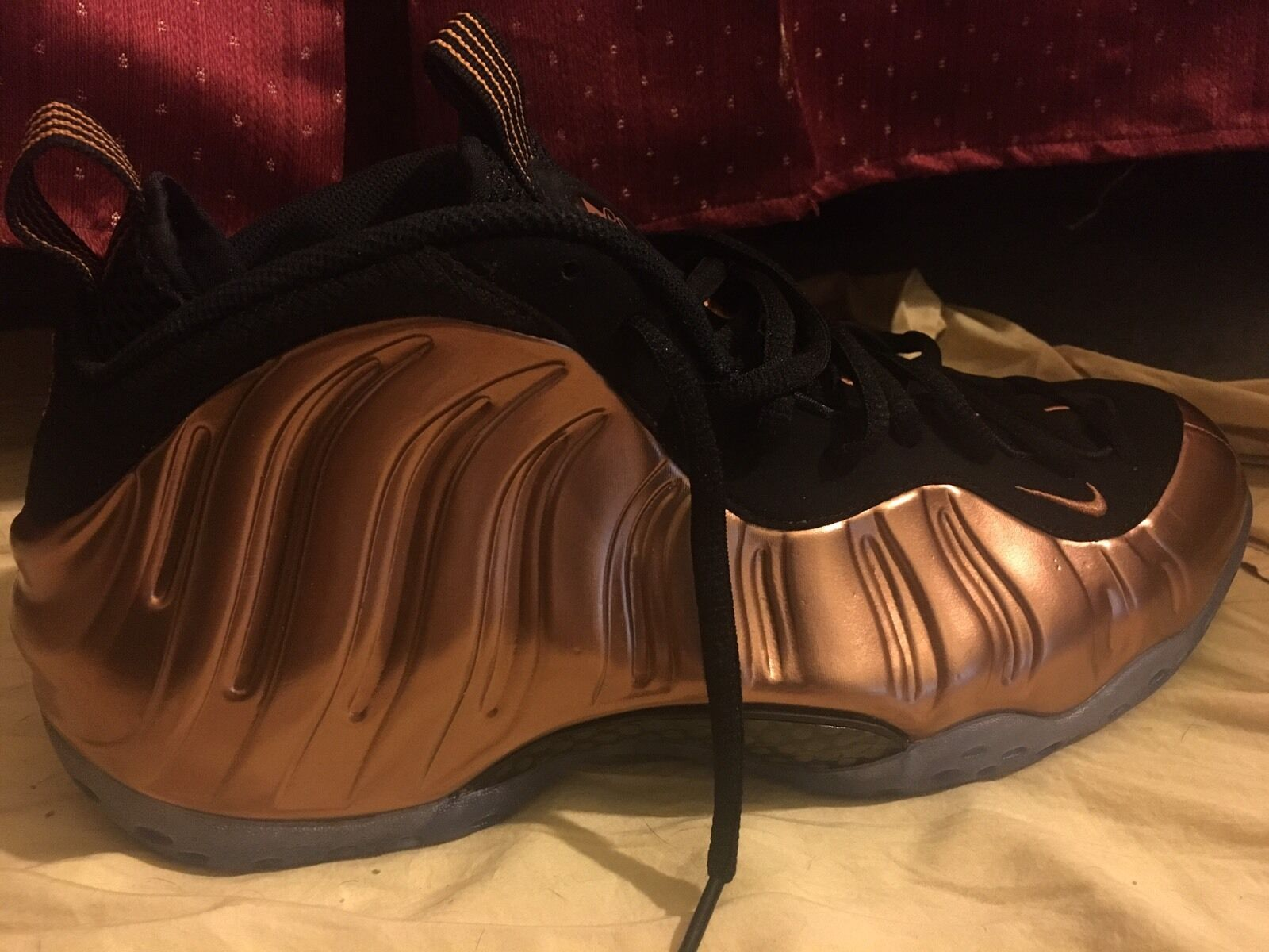 Nike Air Foamposite Copper  Cheap and fashionable