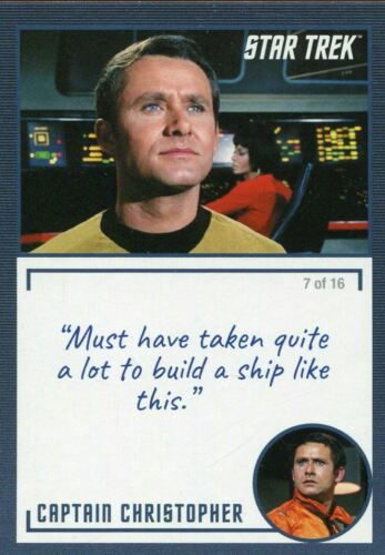 Star Trek TOS Archives /& Inscriptions Base Card #35 Variant 7