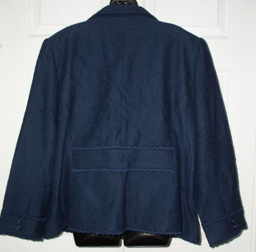 Jessica Jacket Blue Londres Nwt Studio blazer 22w Jl Xxngnqw6E