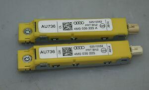 Audi Q7 4M 2x Antennenverstärker Hinten 4M0035225 4M0035225A Original 4383
