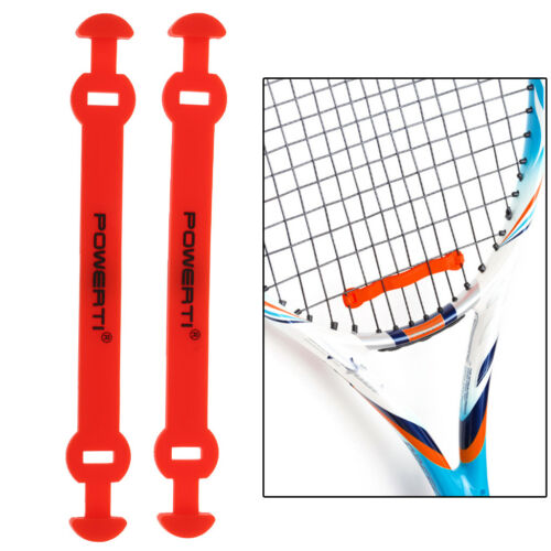 4Pcs Silicone Long Shock Absorber Tennis Racket Racquet Vibration Dampeners