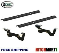 5th Wheel Hitch Custom Brackets & Rails For 2017 Ford F250, F350 Pickup 16428