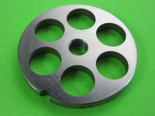 "NEW Size #8 x 5//8/"" meat grinder plate LEM Big Bite /& Cabelas 1//3 /& .35 HP others"