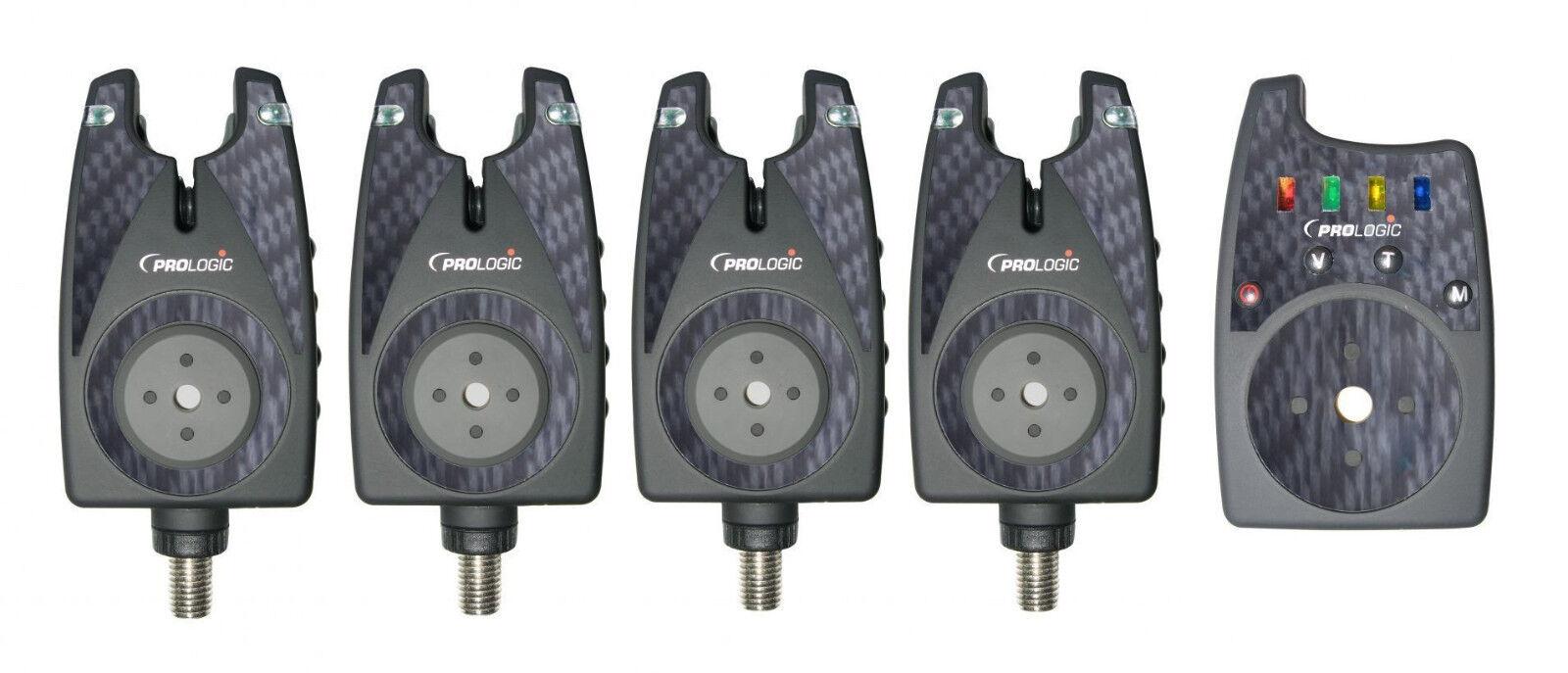 Prologic Senzora 13 Bite Alarm Set 4+1 Bissanzeiger Funkbissanzeigerset