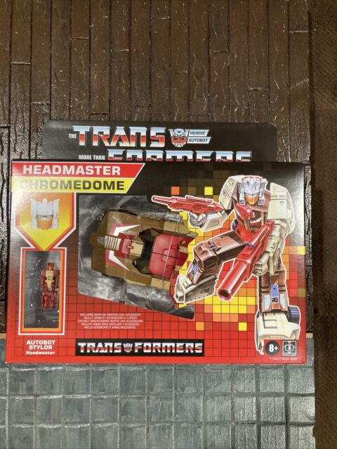 Transformers G1 Retro Headmaster Chromedome Walmart Exclusive