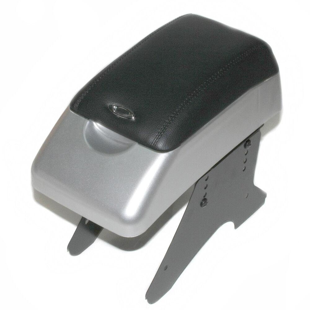 Silber Armlehne Gepolstert Mittelkonsole Box F 252 R Renault