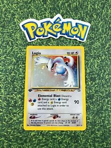 Rare-1st-Edition-Lugia-Holo-9-111-Neo-Genesis-WOTC-Pokemon-Card-Authentic
