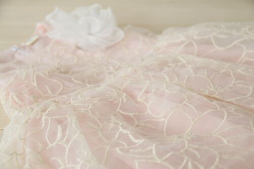 Kids Girls Sleeveless Organza Overlay Flower girl Boutique Dress Size 2//3//4//5//6
