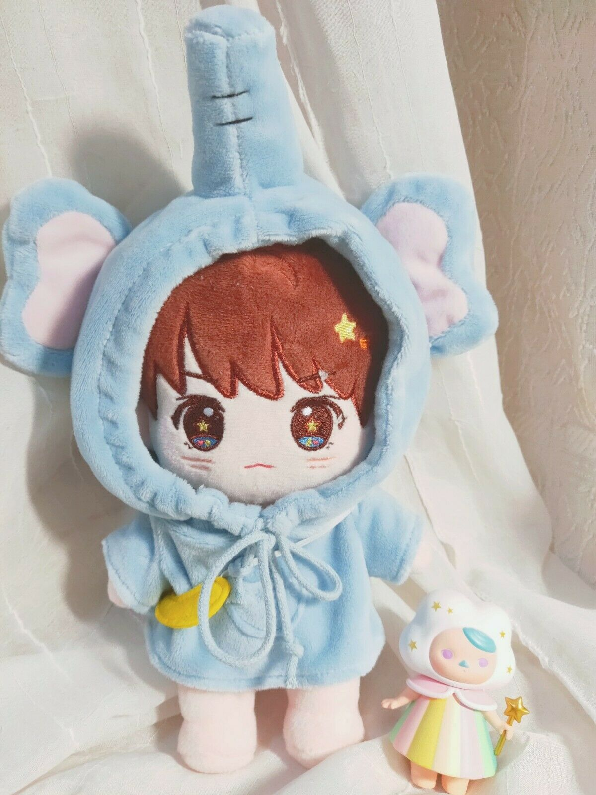 Hand-made Kpop Wanna One Kang Daniel Doll Clothes Elephant Suit Stuffed N D1