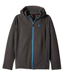 Spyder Kids Constant Hoodie Stryke Jacket, Sweater, Hoodie, Size S (8 Boys) NWT