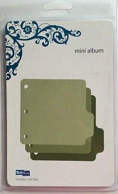 """Quickutz//Lifestyle Crafts  REV-0043  /""""Mini Album/"""" 2  4x4 Cutting Dies  NEW"""