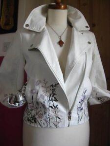 Uk bianca M Edition Biker in similpelle s Ladies Girls Bnwt Size 6 Limited 8nAwwq7EHx