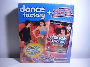 Dance-Factory-Bundle-Game-amp-Mat-PS2-Playstation-2-Plays-Any-CD-NEW-SEALED-DDR