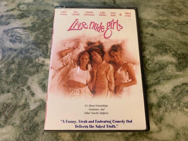 Live Nude Girls (DVD, 1995) SEALED Dana Delany, Kim