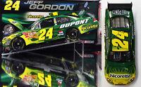 Jeff Gordon 2008 Nicorette Cot 1/24 Action Nascar Diecast