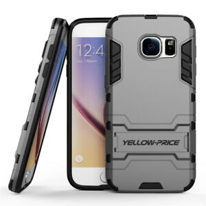 Tough Armour Case Heavy Duty Hard Shell with Kick-Stand For Samsung Galaxy S7 S6