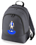 Football-TEAM-KIT-COLOURS-Blackburn-Supporter-unisex-backpack-rucksack-bag miniatuur 5