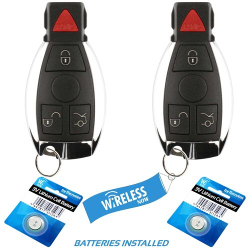 2 Car Key Fob Smart Keyless Remote 4B For 2006 Mercedes S65 S 65 AMG