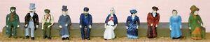 Victorian-Edwardian-People-F10-UNPAINTED-OO-Scale-Langley-Models-Kit-Figures