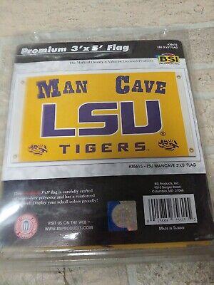 NCAA Auburn Tigers Man Cave Flag with 4 Grommets 3 x 5-Feet