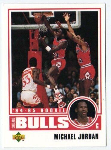 Michael Jordan Upper Deck Chicago Bulls 84-85 Rookie 1998 Basketball Card insert