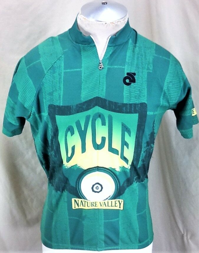 Champion Systems Nature Valley Cycling (Large) 3 4 Zip Up  Graphic Bike Jersey  big discount