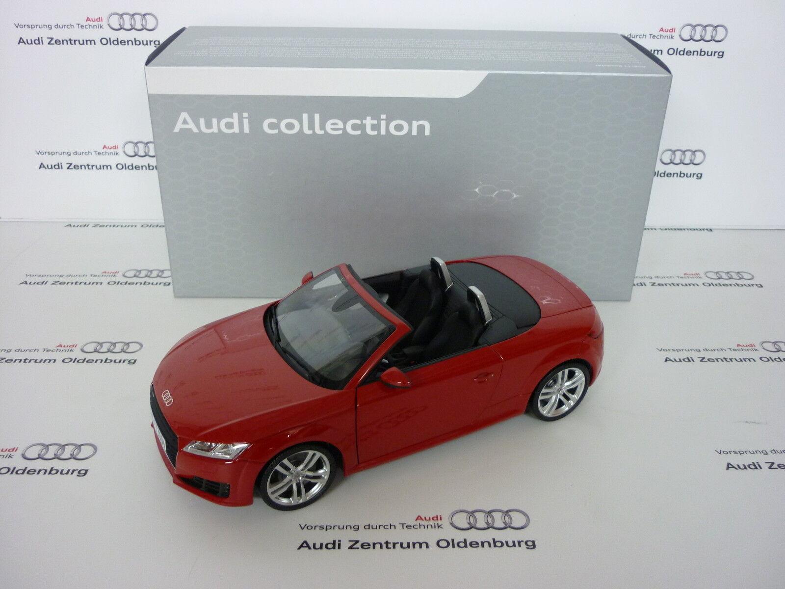 Audi TT Roadster, 1 18, TangGoldt, NEU OVP    Die Farbe ist sehr auffällig