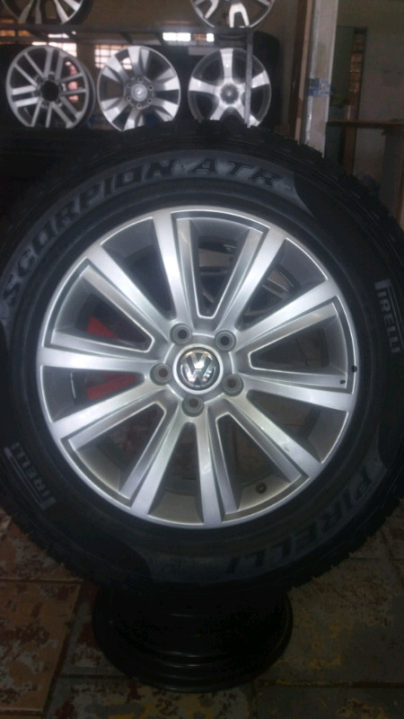"18""VW AMAROK RIM/TYRE FOR SPARE WHEEL."