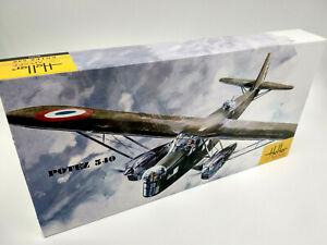 Avion-Potez-540-Maquette-a-monter-Heller-musee-France-neuve-echelle-1-72