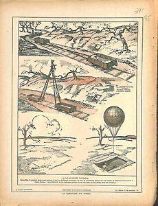 Camouflage-aux-Armees-Balonnet-Invisible-Observatoire-Pliant-Position-1917-WWI