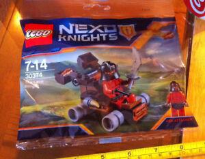 30374 lego rare promo la lave projeteur nexo chevaliers ash attaquant figurine  </span>