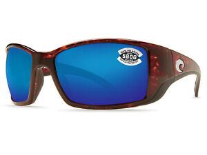 57c19d51a2 Costa Del Mar Blackfin Tortoise   Blue Mirror 580 Glass 580G - NEW ...