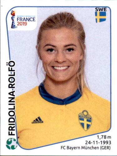 Fridolina Rolfö Schweden Panini Frauen WM 2019 Sticker 478