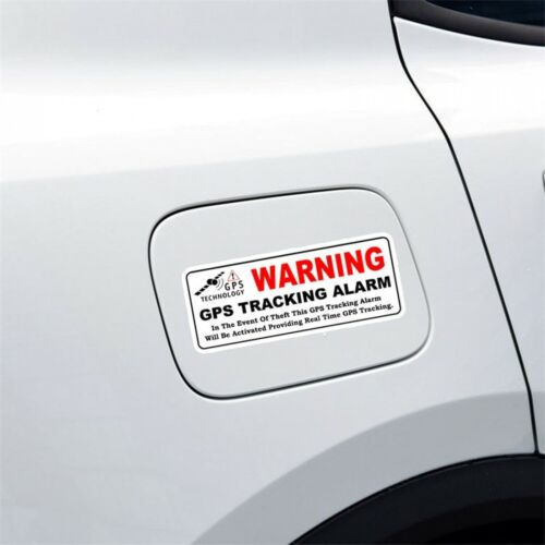 Warning GPS Tracking Alarm Reflective Personality Decal Car Sticker