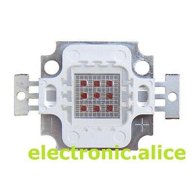 10W IR 940nm Infra-red Round High Power LED Chip Bead bulb Lamp 4.5-5V