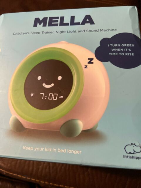 LittleHippo Mella Ready to Rise Children/'s Trainer Night Light Sle Alarm Clock