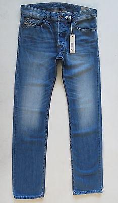 Diesel Men Jeans 38 W x 32 Safado 0830Y Regular Slim Straight New with Tags